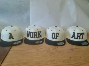 A WORK OF ART 4 HATS