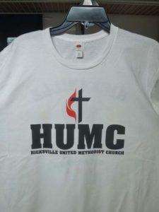 HUMC WHITE SHIRT
