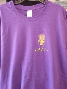 IAAF PURPLE SHIRT