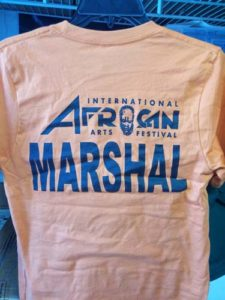 MARSHAL ORANGE SHIRT