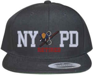 NYPD RETIRED BLACK HAT