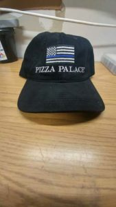 PIZZA PALACE WITH FD FLAG